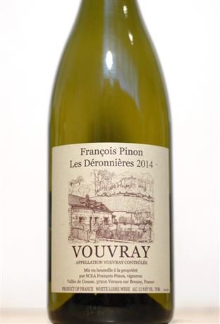 Pinon 2014 Vouvray Deronnieres