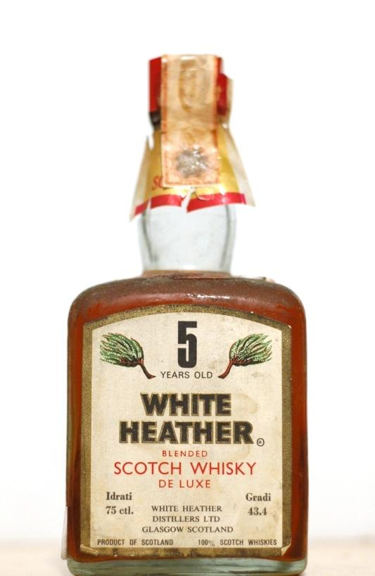 White Heather 5yr Blended Scotch Whisky  (old)