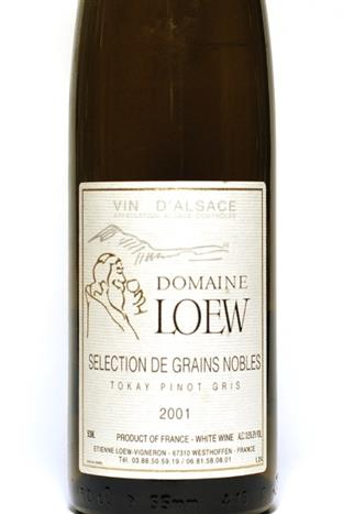 Loew 2001 Alsace Tokay Pinot Gris SGN 500ml
