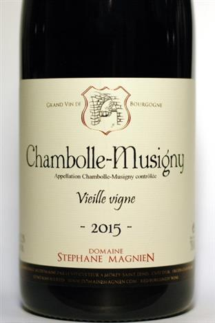 Magnien, Stephane 2015 Chambolle-Musigny Vieilles Vignes