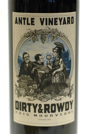 Dirty and Rowdy 2015 Chalone Antle Vineyard Mourvedre