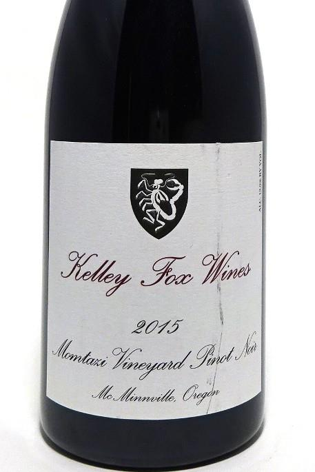 Kelley Fox 2015 Willamette Valley  Momtazi Pinot Noir