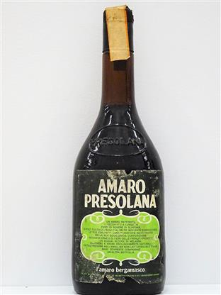 Presolana  Amaro (old bottle) 28%