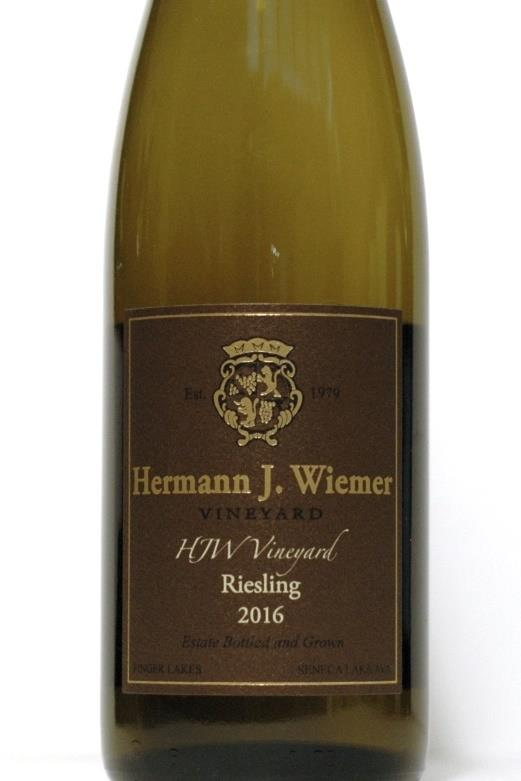 Wiemer, Hermann 2016 Finger Lakes HJW Vineyard  Riesling
