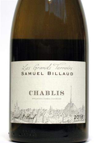 Billaud, Samuel 2016 Chablis