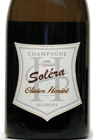 Horiot, Olivier NV Champagne Solera 7 Cepages