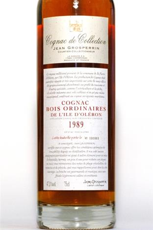 Jean Grosperrin 1989 Cognac de Collection L'Isle d'Oleron
