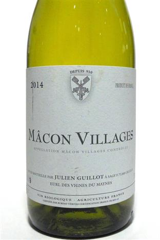 Guillot, Julien (Vignes du Maynes) 2017 Macon-Villages
