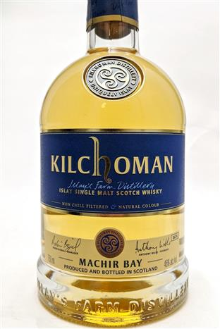 Kilchoman  Islay Single Malt Scotch Whisk Machir Bay